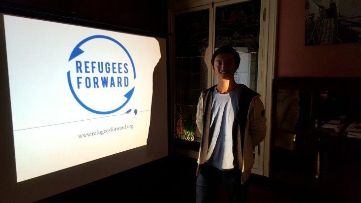 Rotary Heerhugowaard-Langedijk doneert € 500 voor studentenproject Refugees Forward.