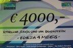 Rotary roeit € 4.000,- bij elkaar