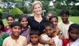 Sophie Countess of Wessex supports charity mission in Calcutta