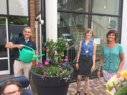 Rotary zet 't Hamersveld in de bloemetjes
