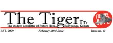 The Tiger  Newsletter --- february 2013