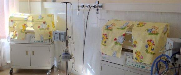 Overzicht van de installatie op de kinderafdeling