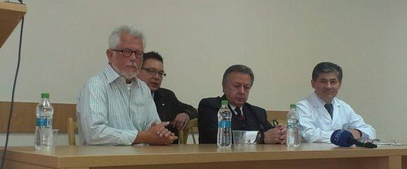 Persconferentie ter afspuiting van het project