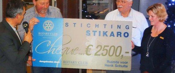 Cheque voor Stikaro