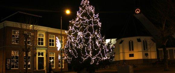 Kerstboom op de Markt Veenendaal