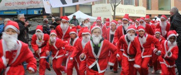 Start Santa Run Veenendaal Regio 2014