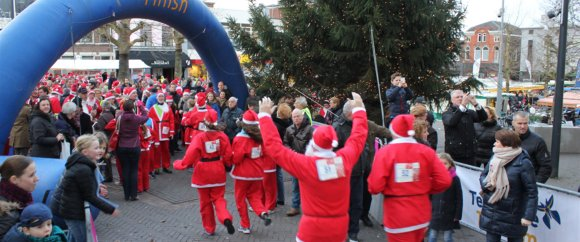 Finish Santa Run Veenendaal Regio 2014