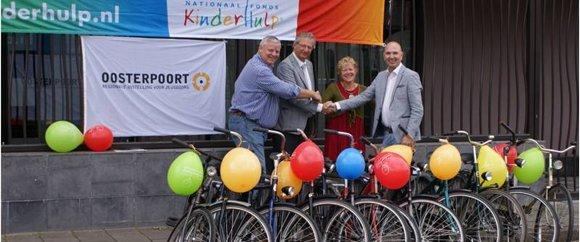 11 fietsen voor Oosterpoort