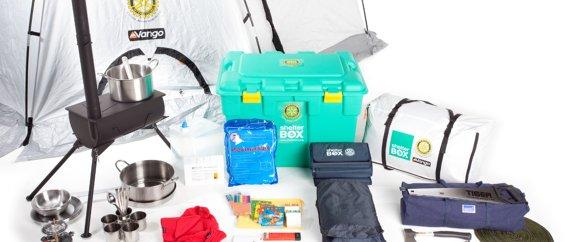 Voorbeeld inhoud shelterbox