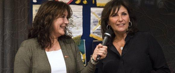 Suzanne Mulder en Astrid Joosten