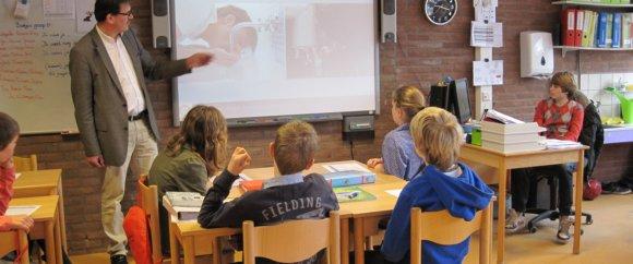 Rotaryleden verzorgen gastlessen op de basisschool