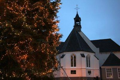 Tienduizend Lampjes Voor Kerstboom Op De Markt